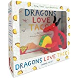 Dragons Love Tacos Book and Toy Set (Book & Toy)