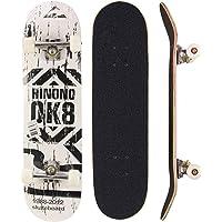 Sumeber, skateboard per evoluzioni da adulti, per principianti, regalo di compleanno, per adolescenti, ragazze, ragazzi…
