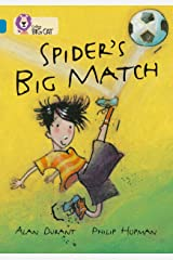 Spider's Big Match: Band 13/Topaz (Collins Big Cat) Kindle Edition
