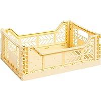 Hay Colour Crate M 507673 Boîte de transport Jaune Hauteur 14,5 cm Profondeur 30 cm Longueur 40 cm