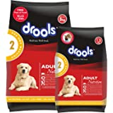 Drools Chicken and Egg Adult Dog Food, 3 kg with Free 1.2 kg