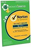 Norton Security Deluxe 2019   5 Geräte   18 Monate Laufzeit  Schutz für PC/Mac/iOS/Android   Frustfreie Verpackung