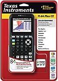 Texas Instruments TI-84 Plus Calculatrice graphique Marquage CE, noir