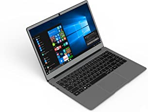 Odys Winbook 14 35,56 cm (14 Zoll) Ultrabook / Notebook (Intel Celeron Quad Core Prozessor N3450, 64GB Festplatte, 4GB RAM, Intel Gen9LP HD500, Aluminium-Gehäuse, Win 10 Home) Graphite Grau