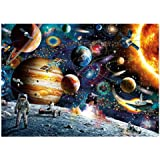 Decdeal Diamond Painting Outer Space View Handmade Full Drill Home DIY Wall Art Decor Gift