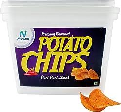 Neelam Foodland Box Pack Premium Flavoured Peri Peri Potato Chips, 200g