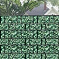 SAILUN® 35/65m x 19cm Sichtschutzstreifen mit 20/30x Befestigungsclipse Sichtschutz Streifen Doppelstabmattenzaun PVC Blickdicht für Einzel- und Doppelstabmatten geeignet von Generic - Du und dein Garten