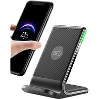 INIU Wireless Charger, 15W Schnellladeständer Kabellose Ladestation Qi-Zertifiziert Ladegerät Kompatibel mit iPhone 12…