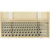 ENT 09190 6-tlg. Schlangenbohrer Set - Gesamtlänge 460 mm - Ø 10-12-14-16-18-20 mm - extra lang