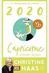 Capricorne 2020 (J'ai lu) Format Kindle