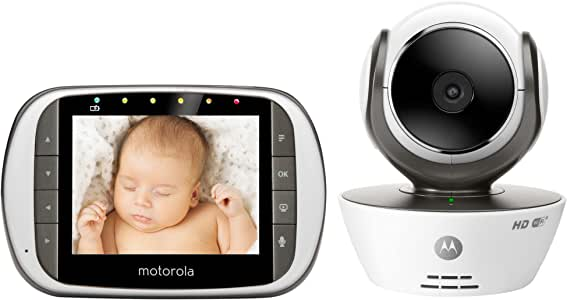 Motorola MBP853CONNECT Digital Video Baby Monitor with Wi-Fi Internet Viewing and 3.5 Inch Diagonal Color Screen by Motorola