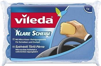 Vileda 966 Klare Scheibe - für Scheiben & Cockpit - klare Sicht im Auto - 1er Pack