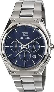 Orologio BREIL per uomo modello FOUR.X con bracciale in acciaio, movimento CHRONO QUARZO