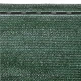 VERDELOOK Tessuto Ombra in Mini Rotoli Oscurante al 90% Dim. 2X10 recinzioni coperture