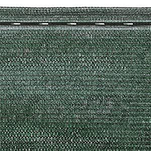 VERDELOOK Tessuto Ombra in Rotoli Oscurante al 90%, 2x10 m, per recinzioni coperture 710rNn0HlRL. SS300