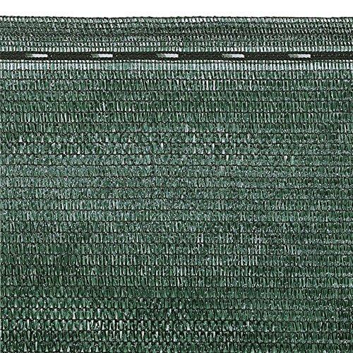 VERDELOOK Tessuto Ombra in Rotoli Oscurante al 90% Dimensioni 2x10 m, per recinzioni coperture