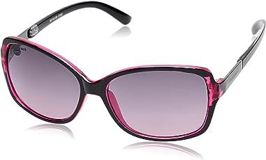 Fastrack UV Protected Wayfarer Women's Sunglasses (P309PR2F|59|Pink)