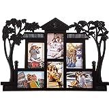Smera Plastic Photo Frame ( Black 15 X 10 CM )
