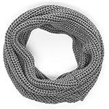 JACK & JONES Bufanda de cuello Single Tube cuello gris 12117116