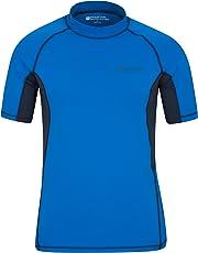 Mountain Warehouse UV-Badeshirt für Herren - Schwimmshirt mit LSF50+, schnelltrocknend, flache Nähte - Ideal zum Schwimmen und Tragen unter einem Schwimmanzug