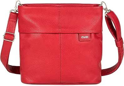 Zwei Mademoiselle M8 Schultertasche 25 cm red
