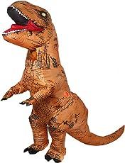 Costume gonfiabile da dinosauro T-Rex, per feste o cosplay