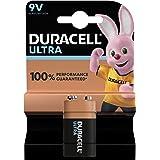 Duracell Pile Ultra Alcaline PP3, 9V, 1 pièce