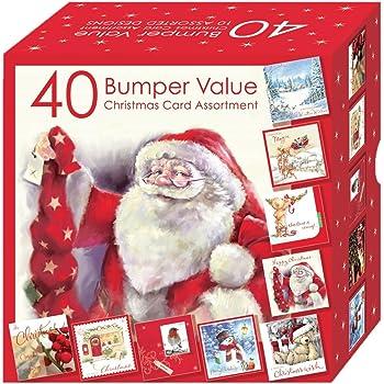 weihnachtskarten set hsx2154 10 verschiedene motive box. Black Bedroom Furniture Sets. Home Design Ideas