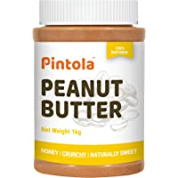 Pintola All Natural Honey Peanut Butter (Crunchy) (1kg)