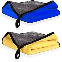 Panno Asciugatura di Pulizia in Microfibra Superfine, Panni per Lucidatura ad Alto Grado di Assorbimento e Resistenza…