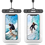 [2 Pack] JOTO Floating Waterproof Phone Case Pouch, Underwater Dry Bag for Swimming Diving Boating Beach, for iPhone 12 Pro M