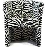 FORTISLINE TOP Sessel Clubsessel Loungesessel Cocktailsessel Zebra W042 17