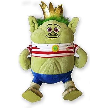BERGEN KING GRISTLE Peluche 30cm TROLLS Dreamworks ORIGINAL