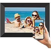 Digitaler Bilderrahmen WLAN, 8 Zoll HD IPS Touchscreen Elektronischer Fotorahmen mit 16 GB Speicher, Automatische…