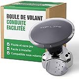 Stuurwiel Knop - Spinner Compatibel met alle stuurwielen - Zeer gladde, spelingvrije stuurwielknop voor auto's, vrachtwagens,