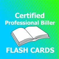 CPB Certified Professional Biller Flashcards
