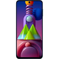 Samsung Galaxy M51 (Electric Blue, 6GB RAM, 128GB Storage) 6 Months Free Screen Replacement for Prime