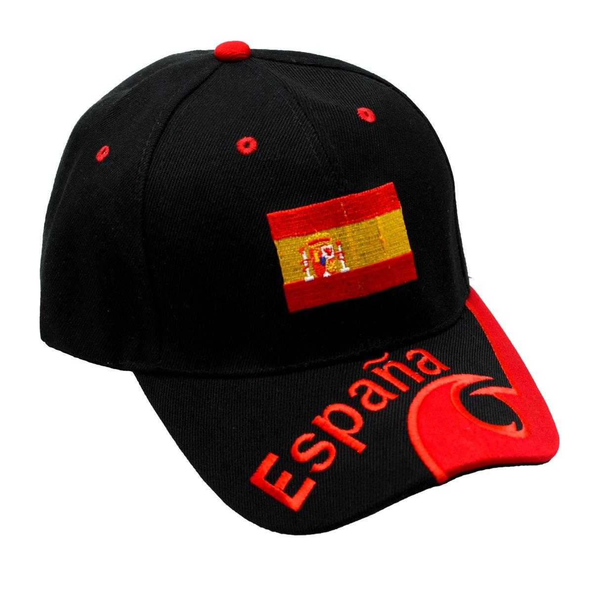 ESPANA Spanien Kappe Mütze Fanmütze WM Base Cap für Fussball WM Basecap NEU Fußball-Fanshop