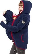 Viva la Mama 3in1 Tragejacke Mama und Baby Umstandsjacke Fleece - JANKO