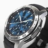Ringke Bezel Styling Cover Compatibile con Samsung Galaxy Watch 46mm e Samsung Gear S3 Frontier, Custodia Acciaio Inossidabil