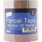 Just Stationery 25m Pakket Tape (rol van 2)