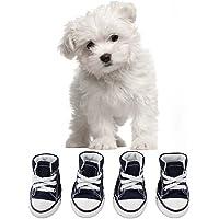 KEESIN Scarpe per cani Scarpe antinfortunistiche per cani antiscivolo Scarpe sportive morbide per piccole e medie(# 2…