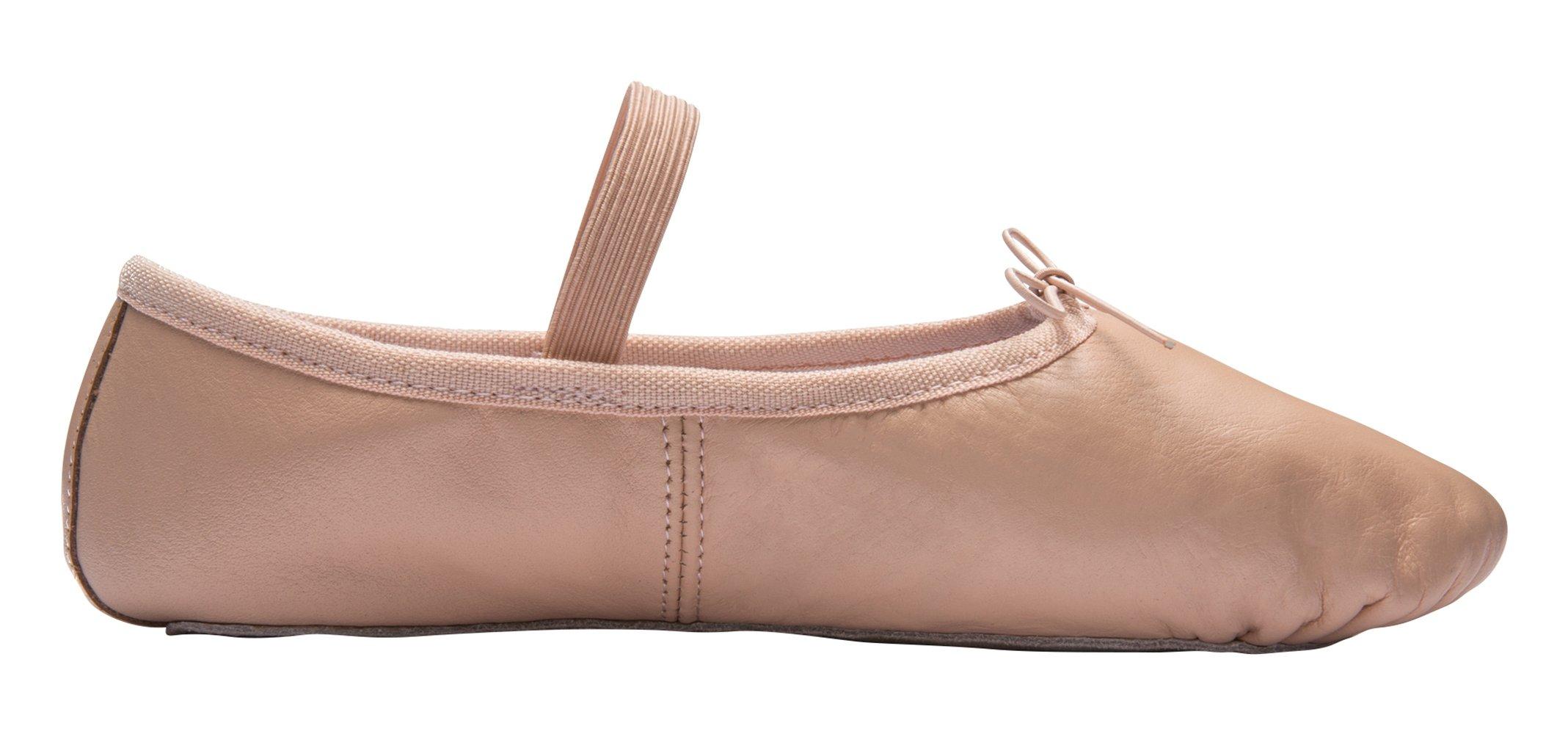 4c03ef657d7ef DWS Ballet Slippers 1003 Leather Ballerina Women`s Dance Shoes Girls ...