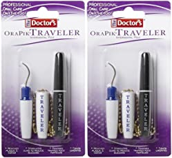 2 : The Doctor's Brand Traveler Plaque and Tartar Remover - 2 ct - 2 pk