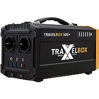 Cross TOOLS TRAVELBOX 500+, 500 W Powerstation, mobiler Stromgenerator, ideal für Festivals, Camping, Outdoor…