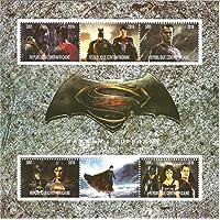 Collectables Stamps - Batman V Superman Marvel DC Comics MNH Stamp Sheetlet 2016