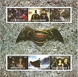 Collection timbres-Batman V Superman Marvel DC Comics MNH Stamp Sheetlet 2016