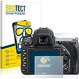 BROTECT Panzerglas Schutzfolie für Nikon D750 - Flexibles Airglass, 9H Härte, Anti-Kratzer