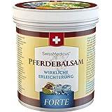 SwissMedicus - Hästbalsam kylande extra stark – hästsalva Forte 500 ml – innehåller 25 örtextrakt inklusive benwell – hästkas