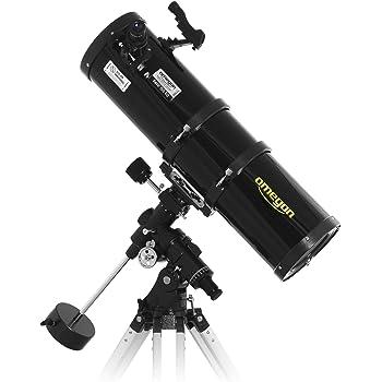 Omegon Ttélescope N 150/750 EQ-4, télescope pour l'astronomie avec 150 mm d' ouverture et de 750 mm de distance focale